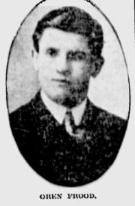 Oren Frood, Citizen, March, 1910